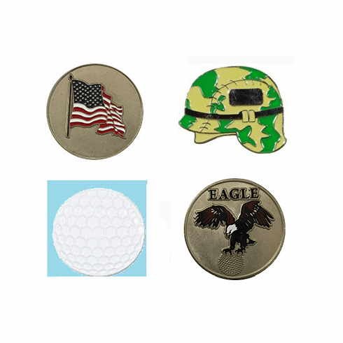 Stock Golf Ball Markers