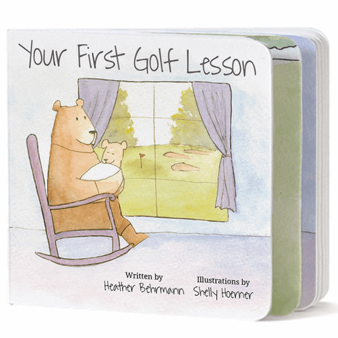 Your First Golf Lesson Children's Book