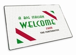 Big Italian Welcome Mat