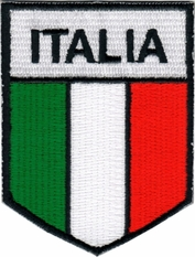 Italia Flag Patch