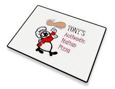 Pizza Flipper Welcome Mat