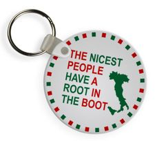 The Nicest People Have A Root In The Boot Keychain