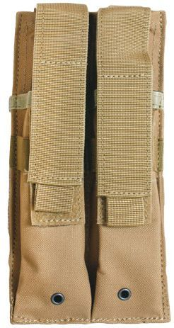 DUAL MULTI CALIBER MAG POUCH COYOTE