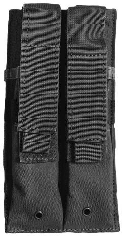 DUAL MULTI CALIBER MAG POUCH BLACK
