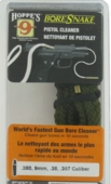 Bore Snake Pistol Bore Cleaner .380,9mm,38,357
