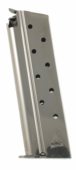 Mec-gar Colt 1911 38 Super 9 Round Nickel Magazine