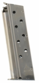 Mec-Gar Colt 1911 40 S&W 8-Round Nickel Plated Magazine