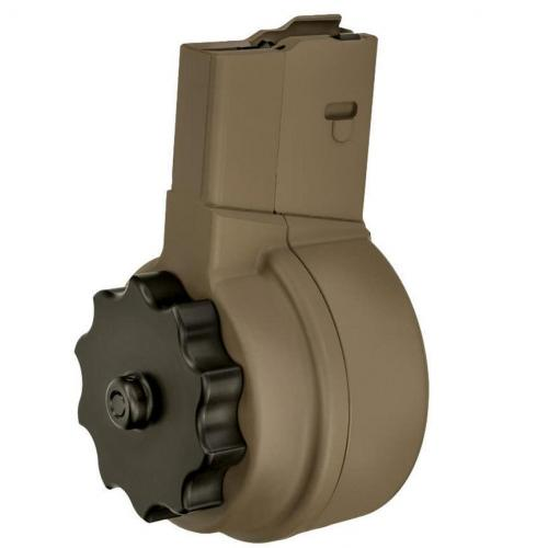 X Products X-25 50 Round Drum DPMS LR-308/SR-25 .308 Win. FDE Finish