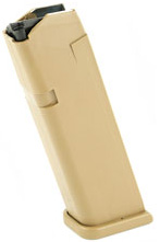 Glock 19X 9mm 17-Round Coyote Magazine
