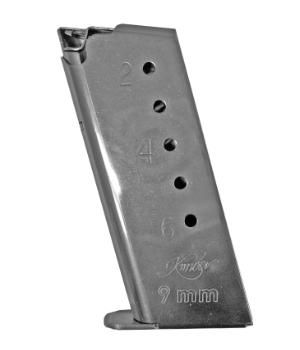 Kimber Solo Stainless Steel 6 Round Magazine