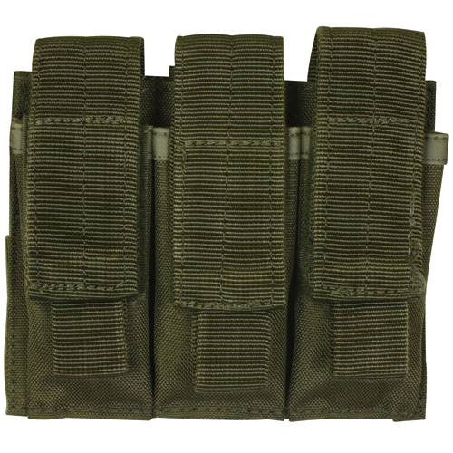 380/9MM Triple Magazine Pouch O.D.