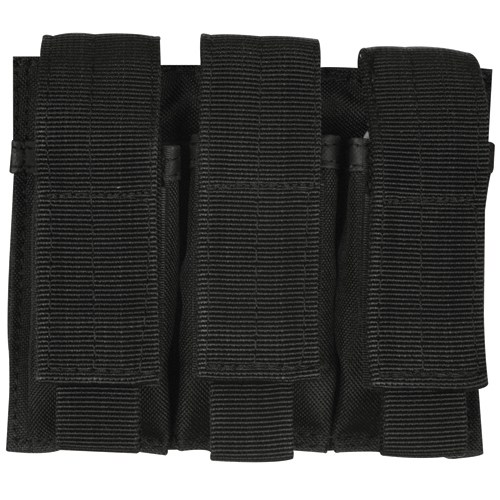 380/9MM Triple Magazine Pouch Black