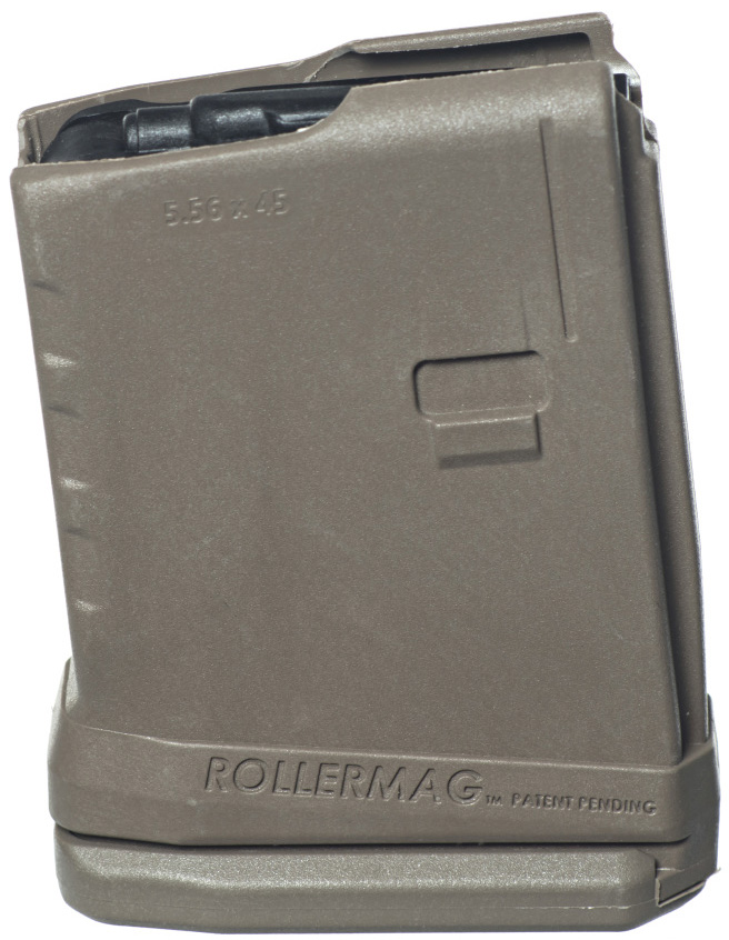 ProMag AR-15 10-Round Rollermag W/Roller Follower Flat Dark Earth