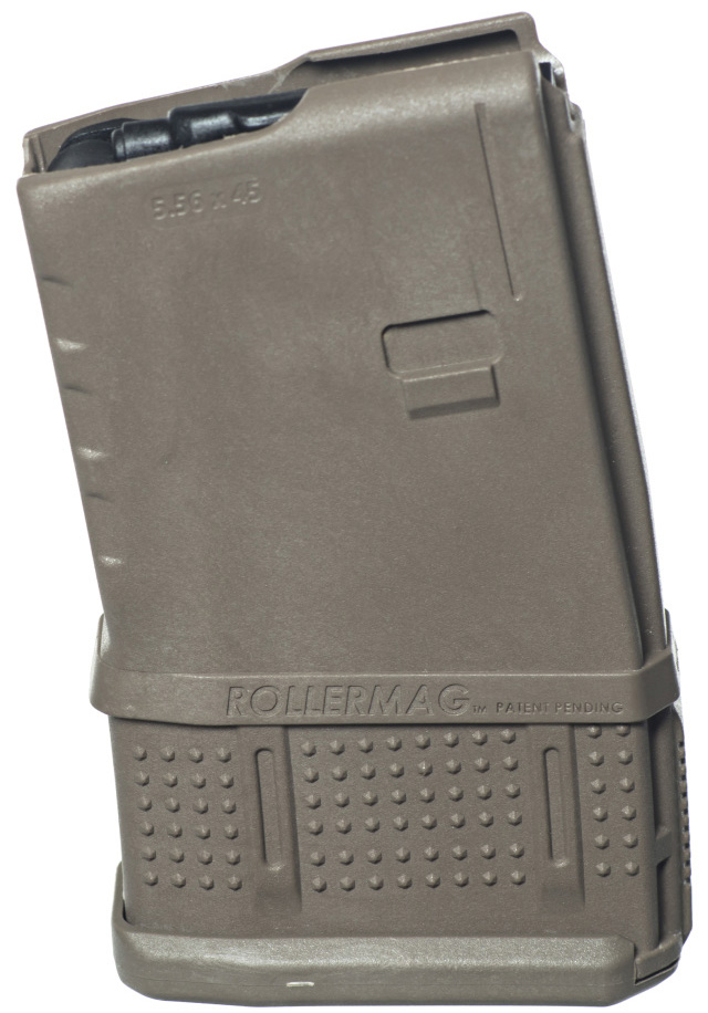 ProMag AR-15 15-Round Rollermag W/Roller Follower Flat Dark Earth
