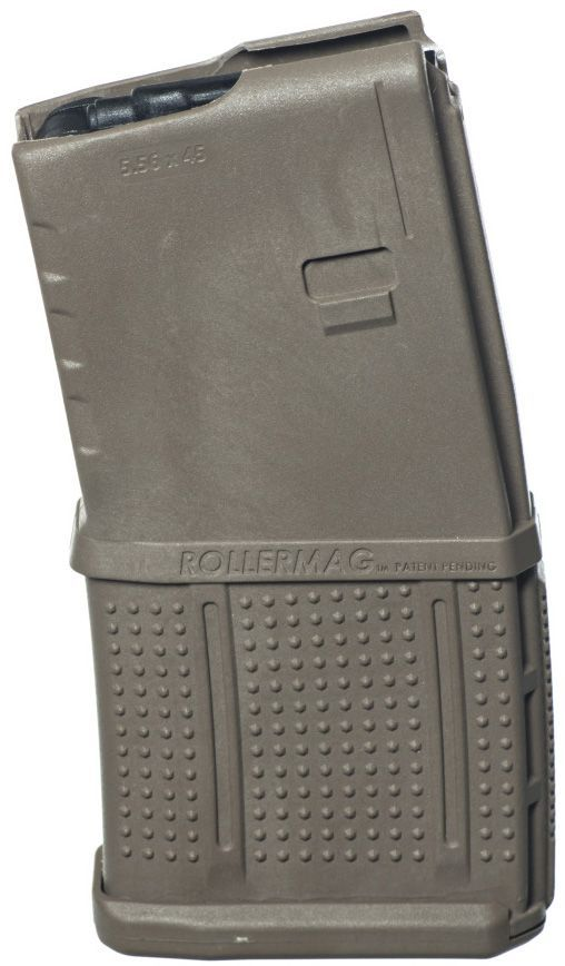 ProMag AR-15 20-Round Rollermag W/Roller Follower Flat Dark Earth