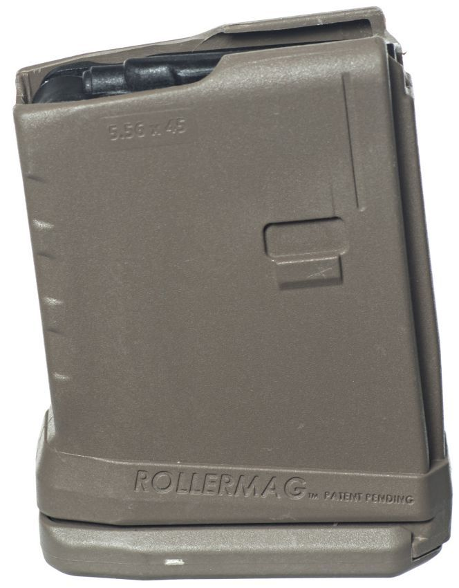 ProMag AR-15 5-Round Rollermag W/Roller Follower Flat Dark Earth