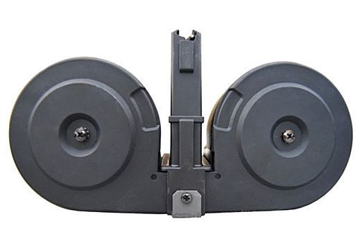 K.C.I. Ruger Mini-14 100 Round Drum Magazine