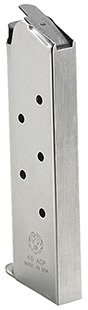 Ruger SR1911 .45 ACP 7 Round Stainless Magazine