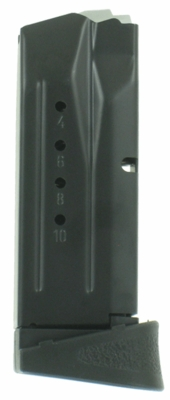 Smith & Wesson M&P Compact 9MM 10 Round Factory Magazine W/Finger Rest