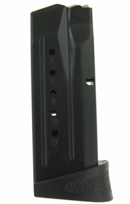 Smith & Wesson M&P Compact 9MM 12 Round  Magazine W/Finger Rest