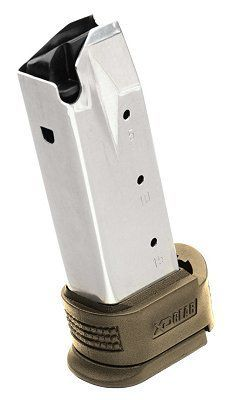 Springfield Armory XD Compact .45 ACP 10-Rd Magazine W/FDE Extension