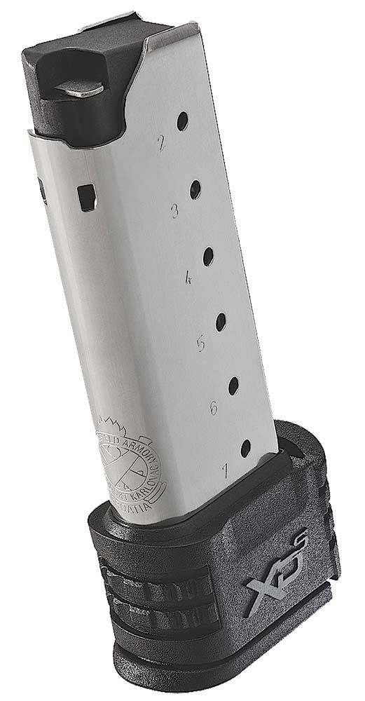 Springfield Armory XD-S .45 ACP 7-Rd Magazine W/Extension For Backstraps 1&2