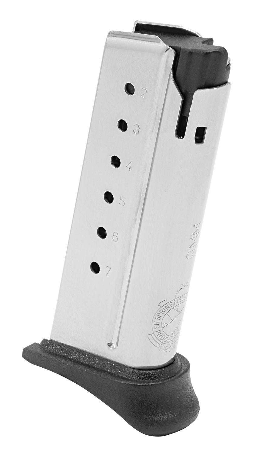 Springfield Armory XD-S Mod.2  7-Round 9mm Magazine W/Hook Plate