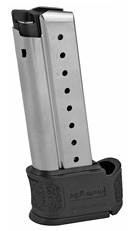 Springfield XD-S Mod 2 9MM Magazine W/Sleeve for Back Straps 1 and 2