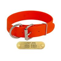 shop Orange K-9 Komfort 1 1/2 in. TufFlex D-End Collar