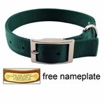 shop 1 in. Double-Ply Nylon Standard Dog Collar - #115N