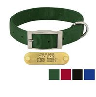 shop 1 in. Double-Ply Standard Nylon Dog Collar