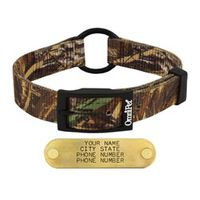 shop Realtree Max 5 Camo 2-ply Nylon Center Ring Dog Collar