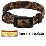 shop Realtree Max 5 Camo 2-ply Nylon D-End Dog Collar