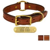 shop 1in. Deluxe Leather Center Ring Collars