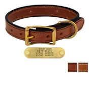 shop 1 in. Deluxe Leather Standard Dog Collars