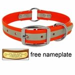 shop K-9 Komfort 1 in. Reflective Center Ring Dog Collar