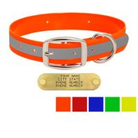 shop 1 in. Reflective Standard Dog Collars