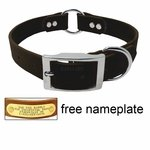 shop 1 in. Mendota DuraSoft Black Hunt Dog Center-Ring Collar