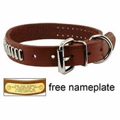 shop 1 in. OmniPet Bully Leather Studded Collar