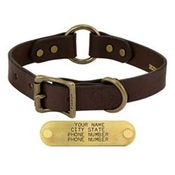 shop 1 in. Leather Center Ring Dog Collar by Filson