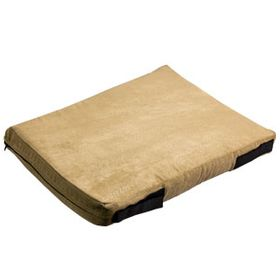 shop 12 in. x 18 in. Bizzy Beds® Crate Cushion -- Beige