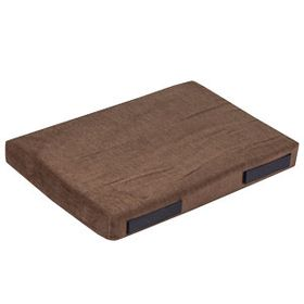 shop 12 in. x 18 in. Bizzy Beds® Crate Cushion -- Brown