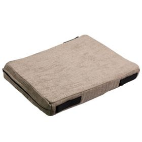 shop 12 in. x 18 in. Bizzy Beds® Crate Cushion -- Sand