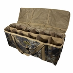 shop 12-Slot Deluxe Duck Decoy Bag Open