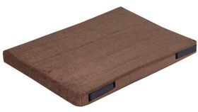 shop 17 in. x 24 in. Bizzy Beds™ Crate Cushion -- Brown
