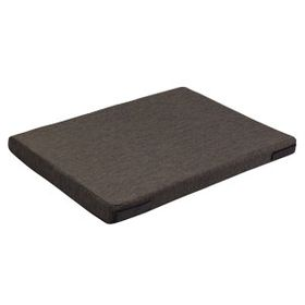 shop 19 in. x 30 in. Bizzy Beds™ Crate Cushion -- Dark Gray