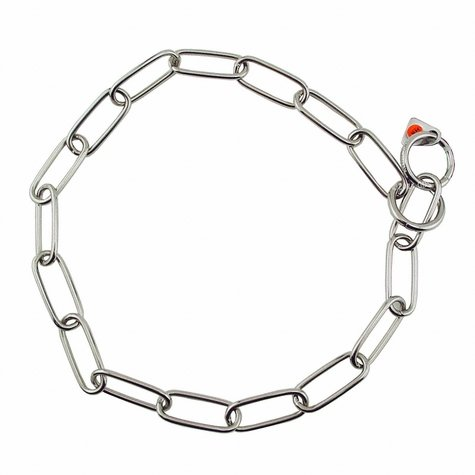 "20 in. ""Lite"" Stainless Steel Sprenger Fur Saver Choke Chain #6440"