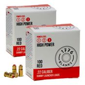 shop 200 RRT Dummy Launcher Heavy Red Crimped Blank Loads (2 boxes)
