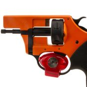 shop .22 Double Action Primer Pistol Clamshell Trigger Lock In Use