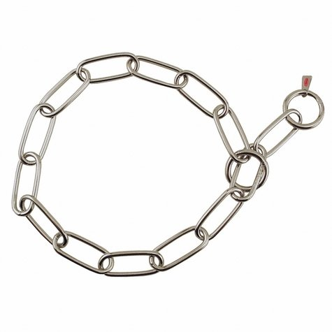 27 in. Stainless Steel Sprenger Fur Saver Choke Chain #6434S